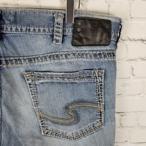 SILVER   Konrad distressed/ destroyed jeans